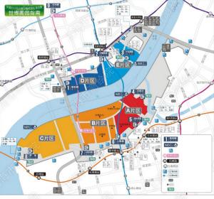 世博园区出入口编号及名称-上海世博会园区导览图